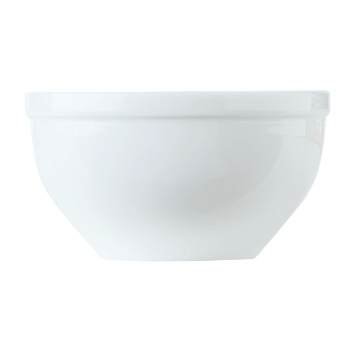 World Tableware 150230250 9-1/4-oz Empire Bouillon Cup - Porcelain, Bright White