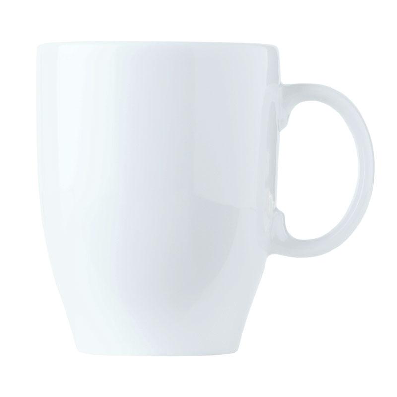 World Tableware 150230380 13-1/4-oz Empire Porcelain Mug - Bright White