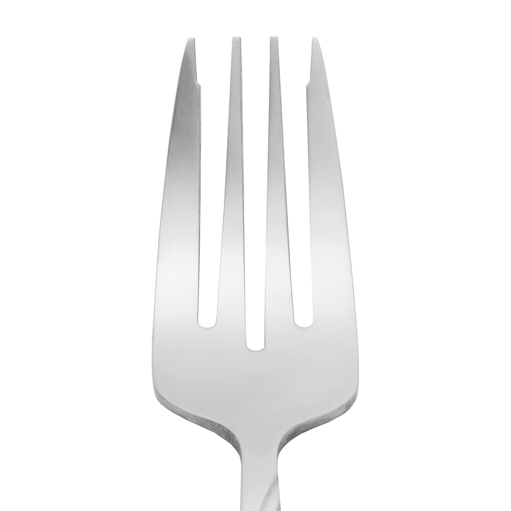 World Tableware 165038 Salad Fork, 18/0-Stainless, Extra Heavy Weight, Cascade Brandware Collection