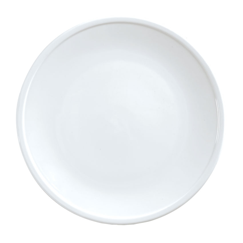 "World Tableware 170210300 6.5"" Round Coupe Plate, Bright White"