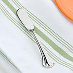 World Tableware 561053 Resplendence Butter Spreader - Silverplated