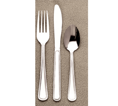 World Tableware 632001 Teaspoon, 18/0-Stainless, Economy Weight, Touchstone