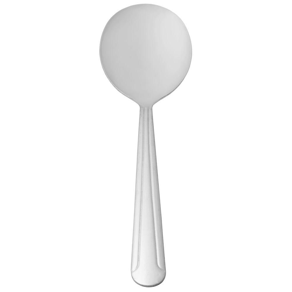 World Tableware 657016 Bouillon Spoon, 18/0-Stainless, Medium Weight, Dominion Brandware Collection