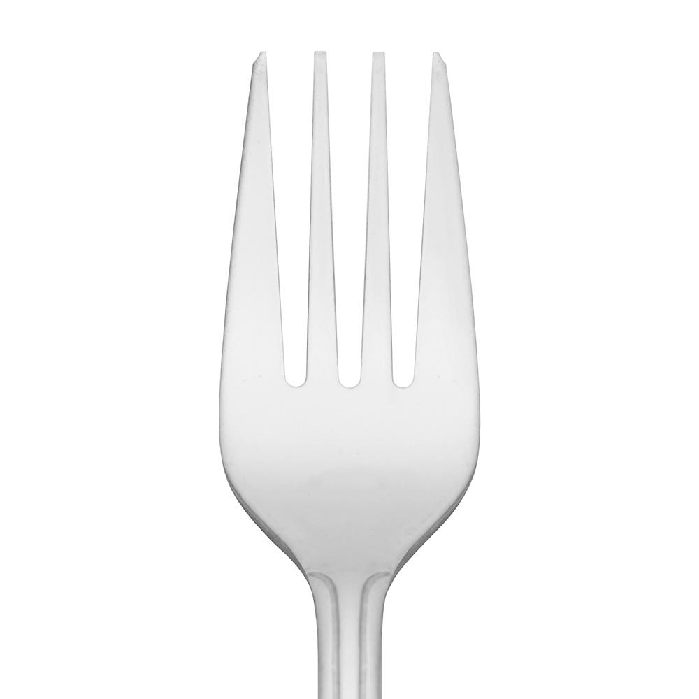 World Tableware 657038 Salad Fork, 18/0-Stainless, Medium Weight, Dominion Brandware Collection