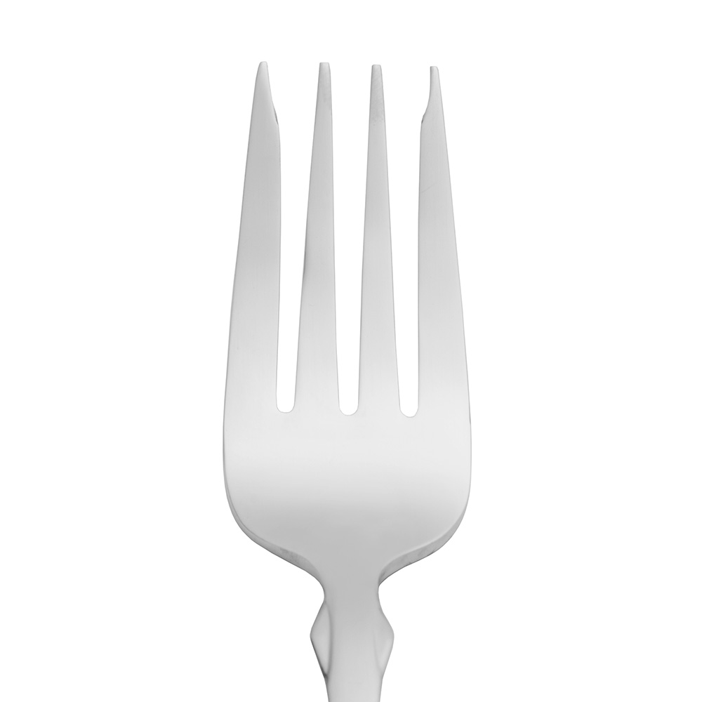 World Tableware 670038 Salad Fork w/ Satin Finish Handle, 18/0-Stainless, Boston Common World