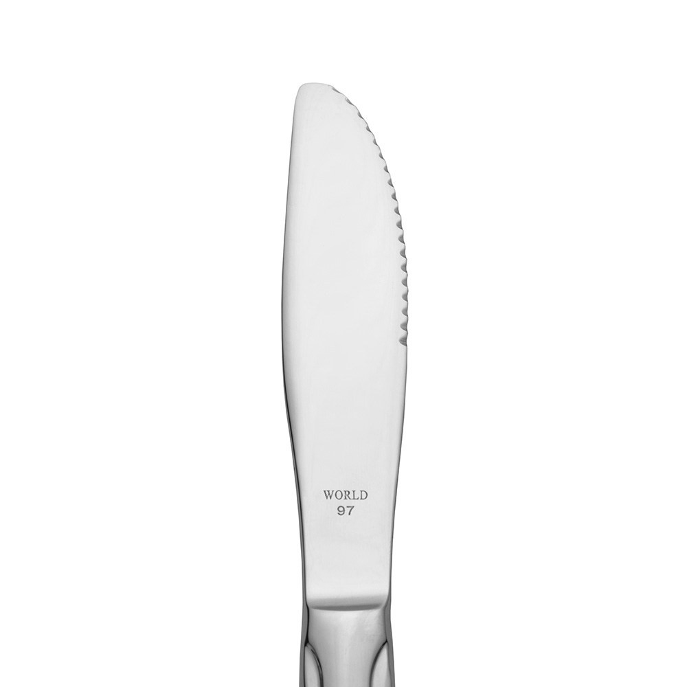 World Tableware 6705262 Boston Common Entrée Knife - 18/0 Stainless, World Collection