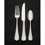 """World Tableware 703030 8.125"""" Dinner Fork, 18/8 Stainless, Equity"""