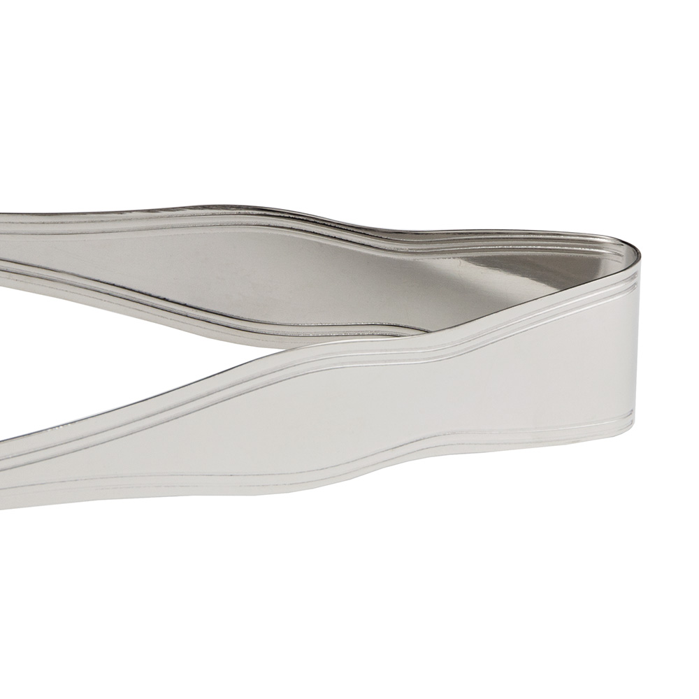 """World Tableware 7223-000 6"""" Deluxe Windsor Ice Tongs - Stainless"""