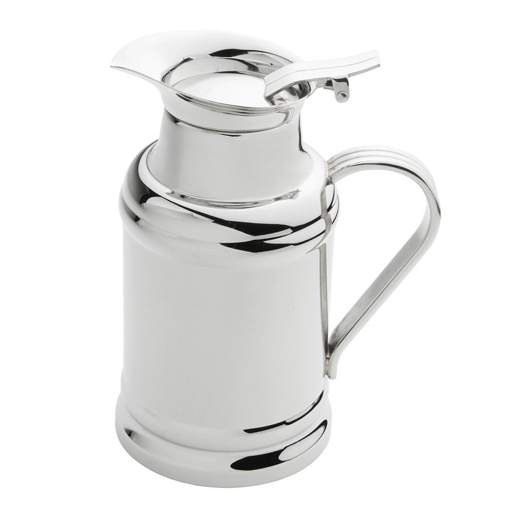 World Tableware 73457 17-oz Hot/Cold Milk Pot - Double-Wall, 18/8 Stainless