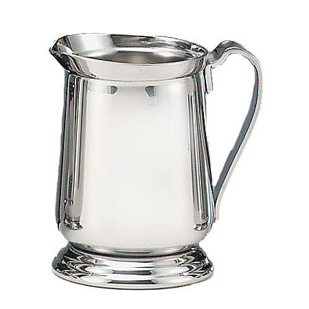 World Tableware 7445 8-oz Traditional Cream Pitcher - 18/8 Stainless