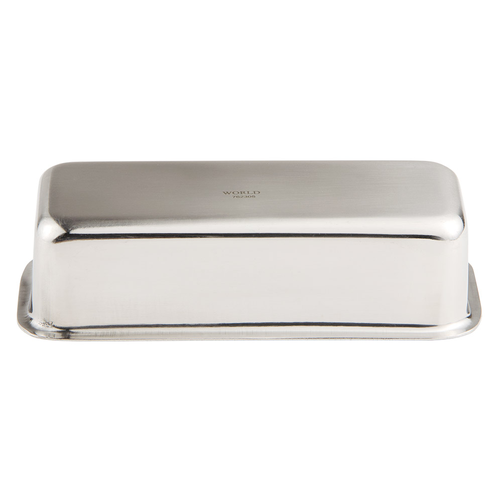 "World Tableware 762305 Sugar Packet Holder, Stainless, 5.75x2.75x1.5"""