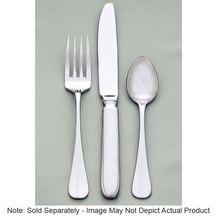 World Tableware 813016 Silverplated Bouillon Spoon, Baguette World Collection