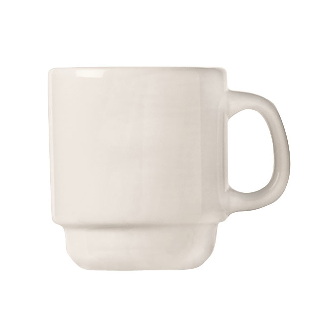 World Tableware 840-150-007 2.5-oz Espresso Cup - Short, Rolled Edge, Porcelain, Bright White