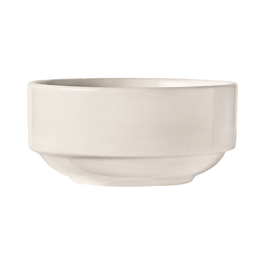 "World Tableware 840-330-001 4.5"" Porcelain Stacking Bowl w/ 10.5-oz Capacity, Porcelana"