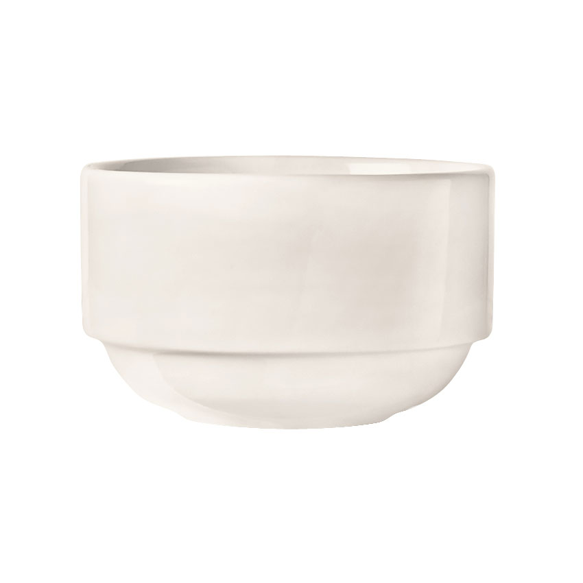 World Tableware 840-330-005 4-in Porcelain Stacking Bowl w/ 10-oz Capacity, Porcelana