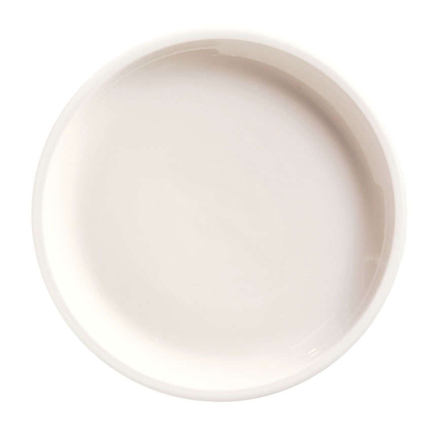 "World Tableware 840-439P 9"" Round Porcelain Pellet Plate, Coupe, Bright White, Porcelana"