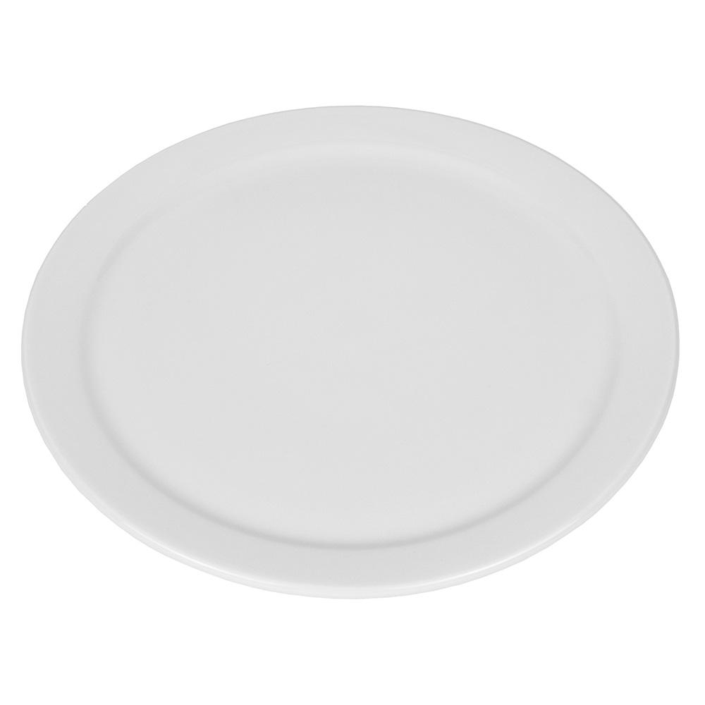"World Tableware 840-440N-15 10.38"" Plate - Narrow Rim, Porcelain, Bright White"