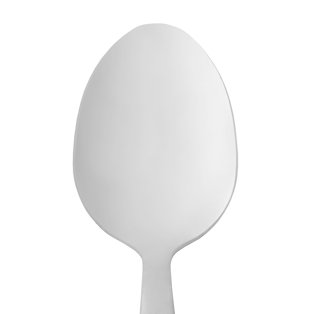 World Tableware 858001 Teaspoon w/ Satin Finish Handle, 18/0-Stainless, New Charm World Collection