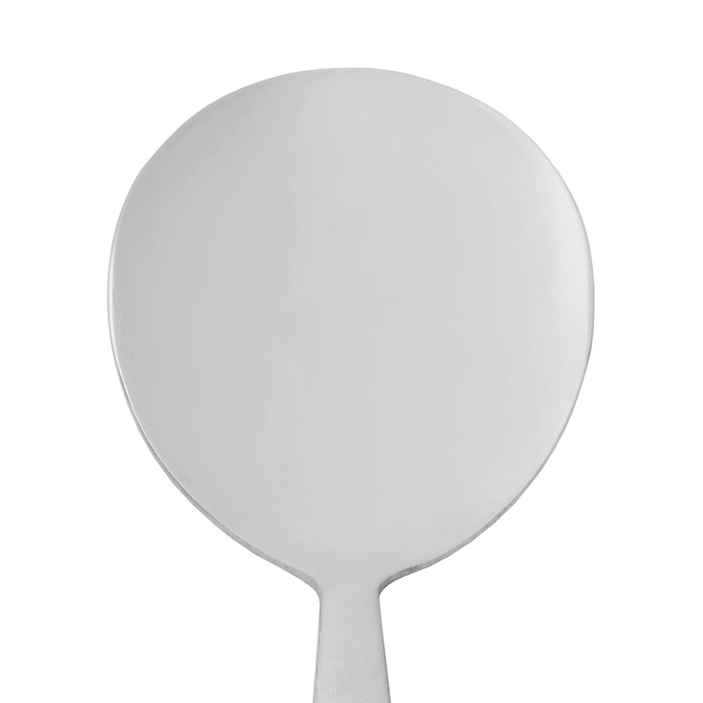 World Tableware 858016 Bouillon Spoon w/ Satin Finish Handle, 18/0-Stainless, New Charm World