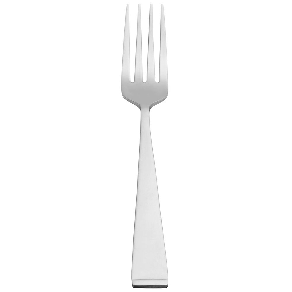 World Tableware 858030 Utility Fork w/ Satin Finish Handle, 18/0-Stainless, New Charm World Collection