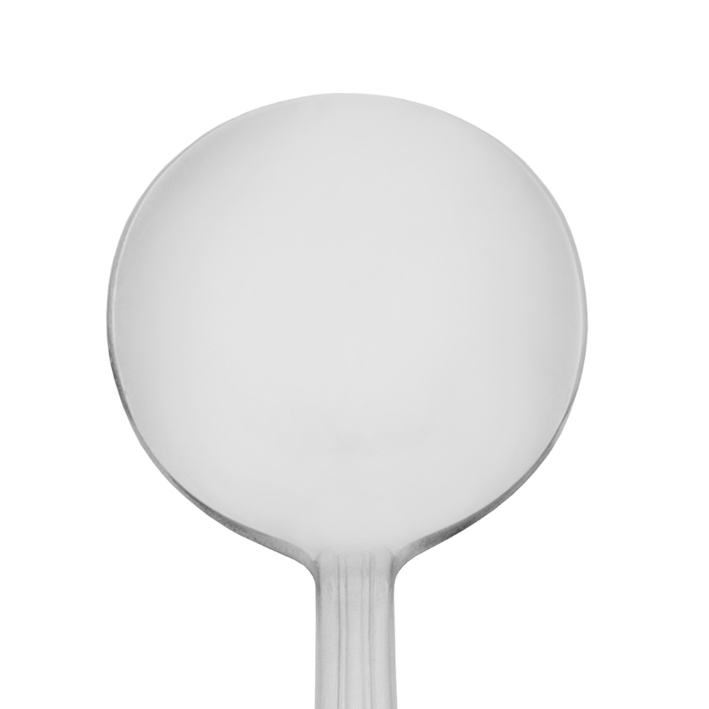 World Tableware 918016 Bouillon Spoon, 18/0-Stainless, Classic Rim World Collection