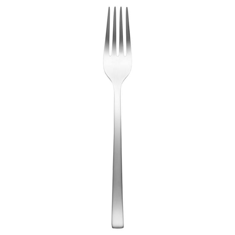"""World Tableware 930 038 7.13"""" Briossa Dessert Salad Fork - 4.5-ga Stainless"""