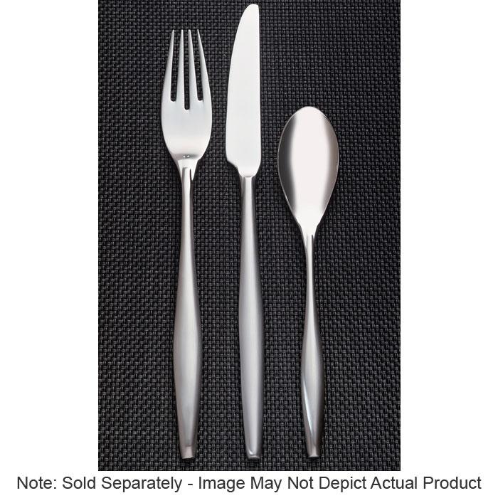 World Tableware 937554 Bread Butter Knife w/ Satin Finish, 18/8-Stainless, Slenda