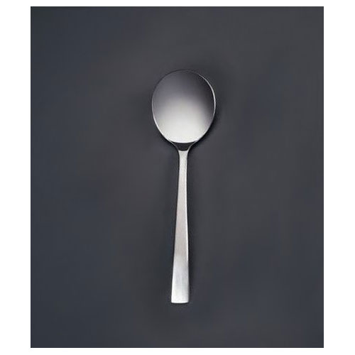 World Tableware 962016 Bouillon Spoon - 18/0 Stainless, Medium Weight, Oceanside