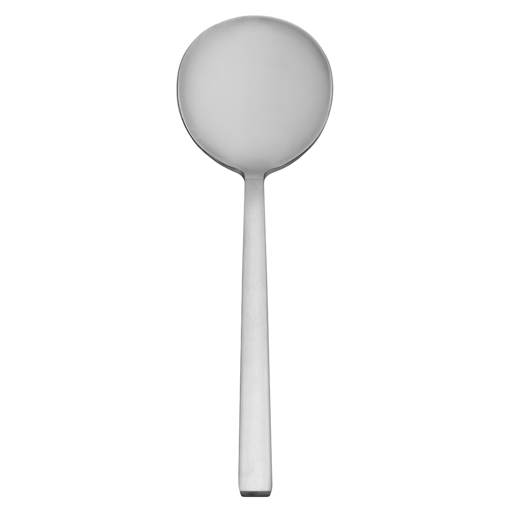 "World Tableware 963016 7-1/8"" Bouillon Spoon, Elexa World Collection, 18/0 Stainless"