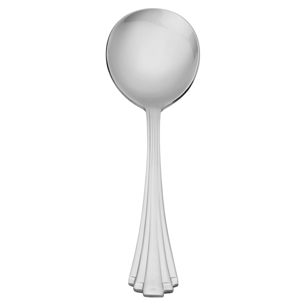 World Tableware 968016 Bouillon Spoon, 18/0-Stainless, Alexis World Collection