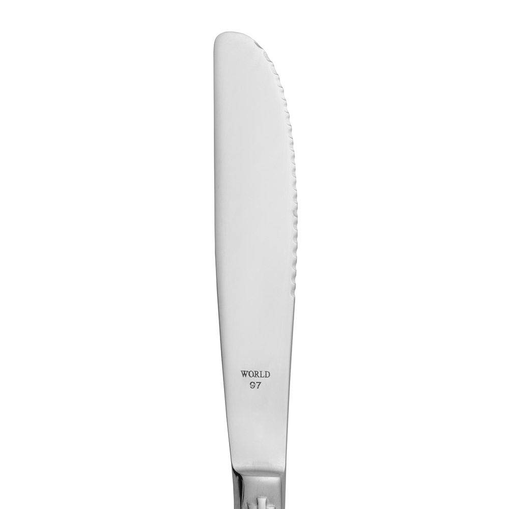 World Tableware 9687922 Utility Knife, 18/0-Stainless, Alexis World Collection