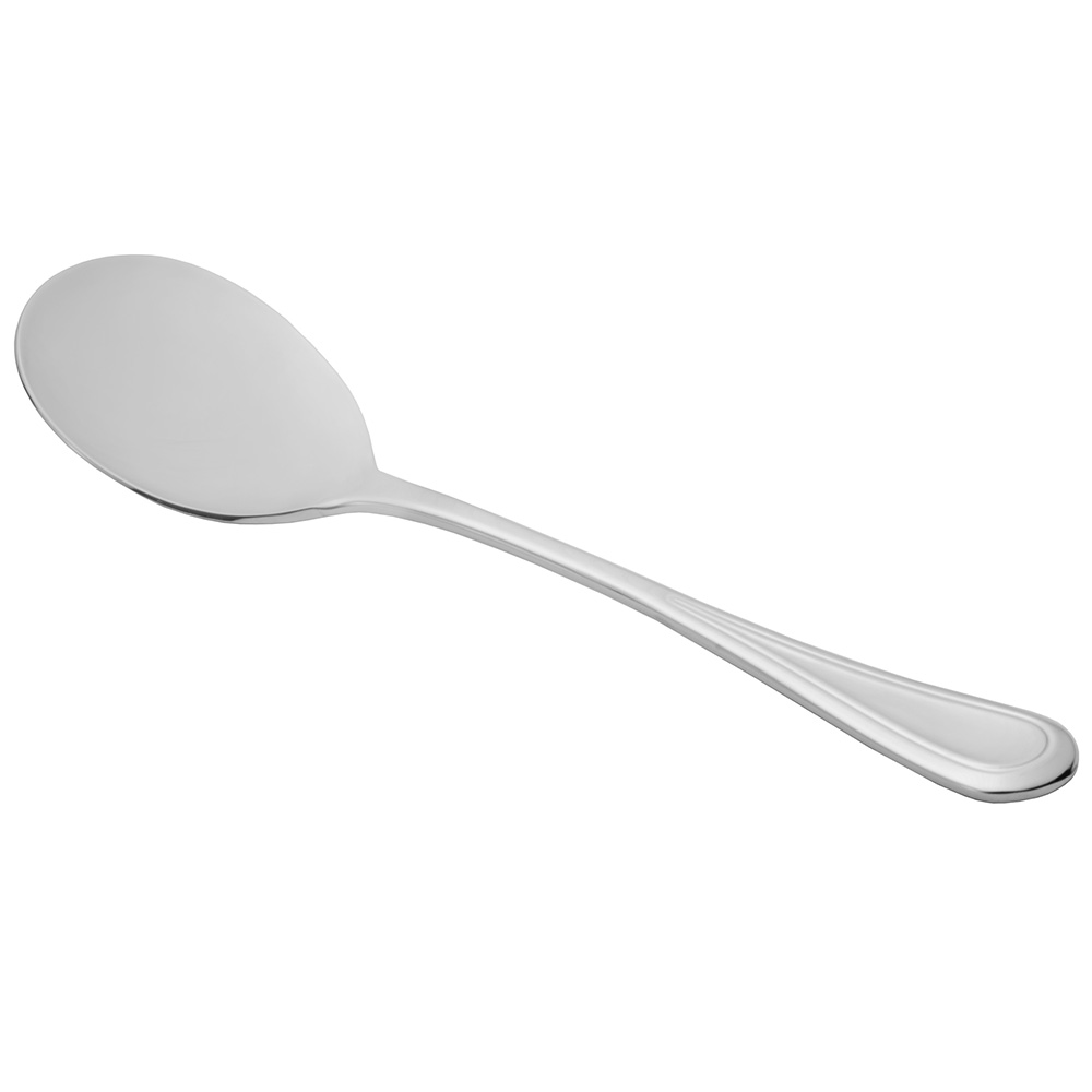 World Tableware 971016 Bouillon Spoon, 18/8-Stainless, Aspen World Collection