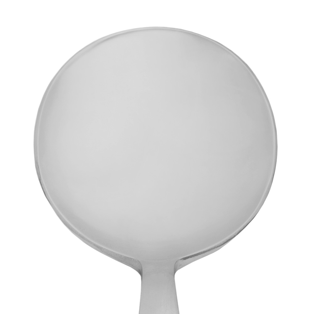 World Tableware 989016 Bouillon Spoon, 18/0-Stainless, Quantum World Collection