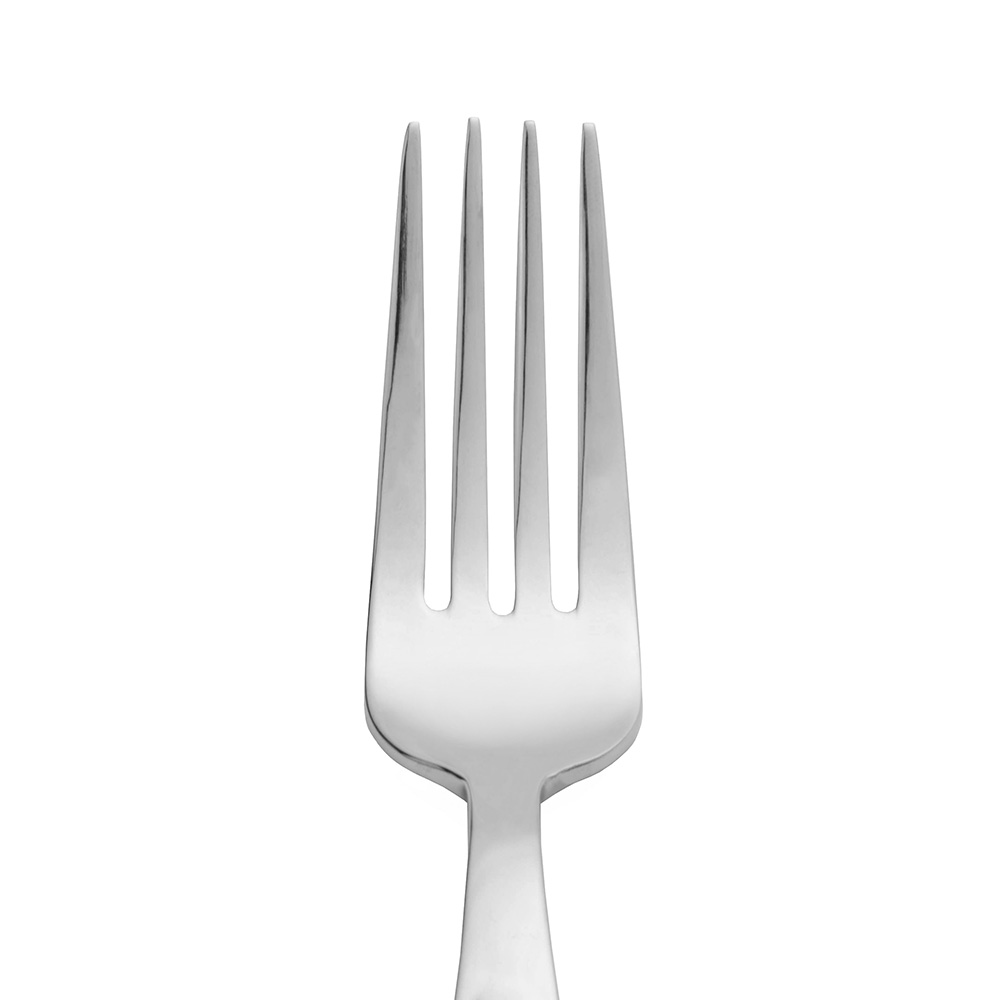 World Tableware 989027 Dinner Fork, 18/0-Stainless, Quantum World Collection