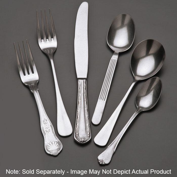 "World Tableware 998004 7.375"" Bouillon Spoon w/ Long Handle, Stainless Steel"