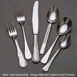 "World Tableware 998030 7.375"" Dessert Fork, Stainless Steel"