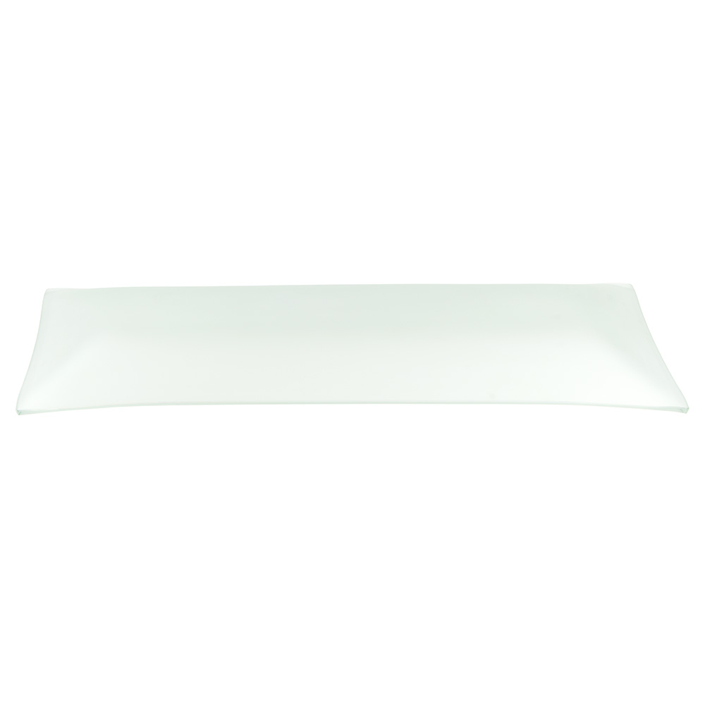 World Tableware BFP-15 Rectangular Frosted Banquet Tray - 20-1/2x8