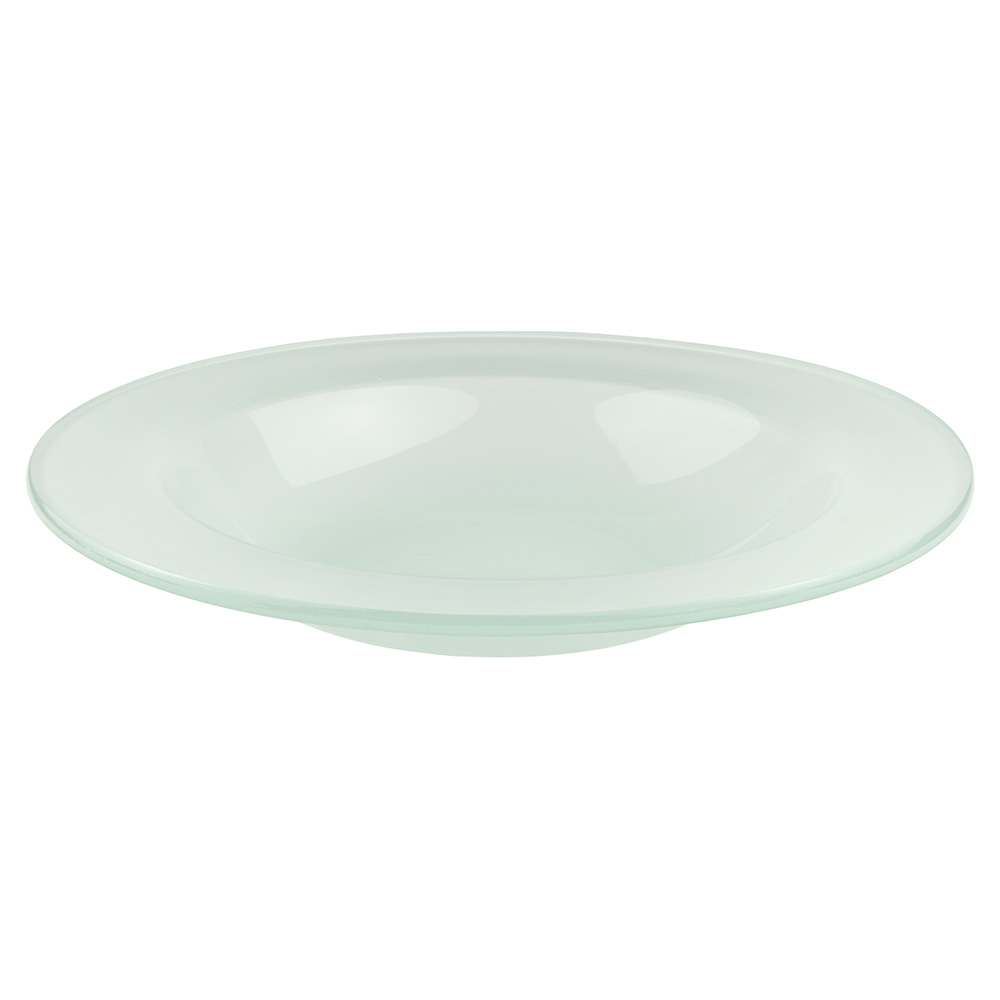 "World Tableware BFP-17 15"" Round Frosted Banquet Bowl"