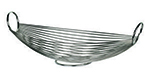 World Tableware BM-22177 Oval Bread Basket - Stainless