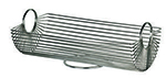 World Tableware BM-22178 Rectangular Bread Basket - Stainless