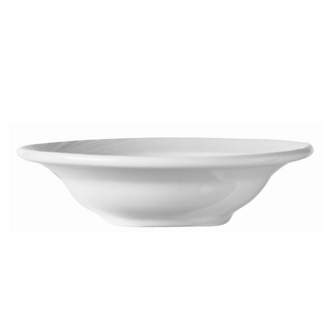 World Tableware BO-1130 10-1/4-oz Basics Orbis Soup Bowl - Porcelain, Bright White