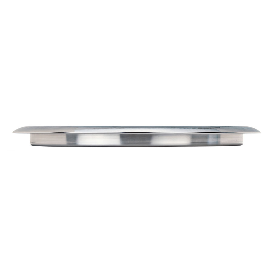 """World Tableware BT-6127 15.75"""" Tray with Hammered Rim"""