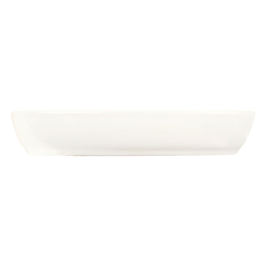 World Tableware BW-014 5-1/4-oz Chef's Selection Oval Bowl - Porcelain, Ultra Bright White