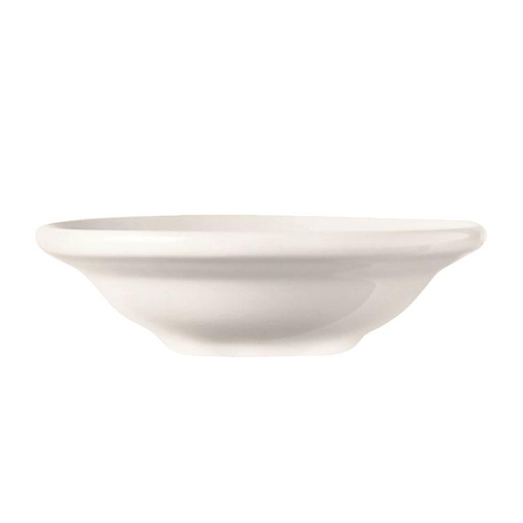 World Tableware BW-1132 3.5-oz Porcelain Fruit Bowl, Bright White, Basics Collection