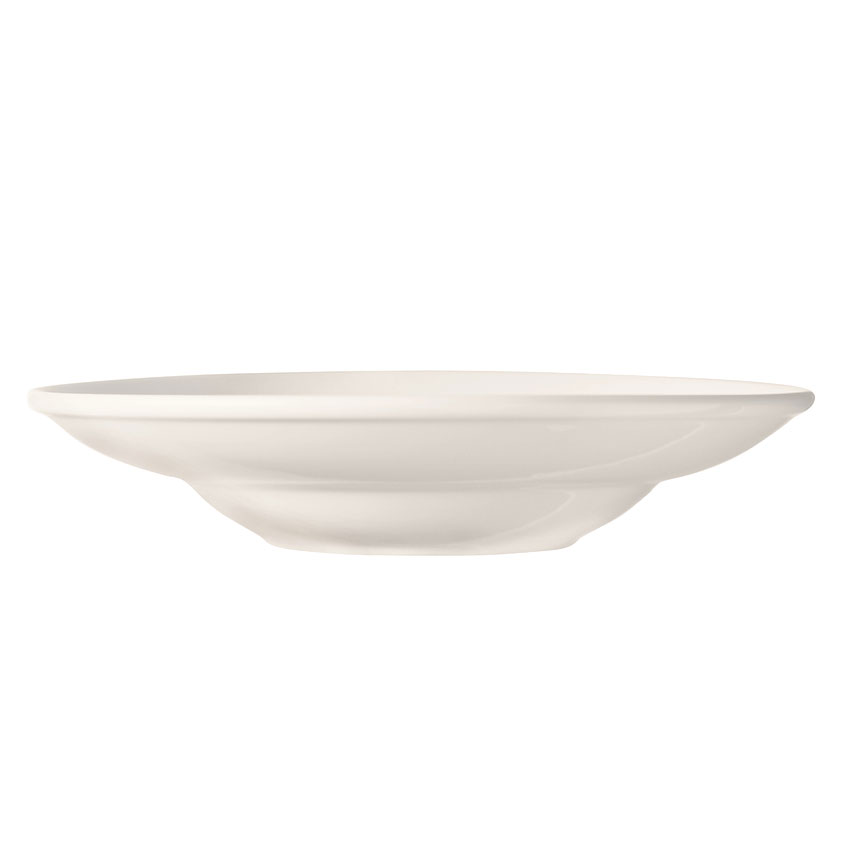 "World Tableware BW-1135 11.75"" Porcelain Entree Pasta Bowl w/ 16-oz Capacity, Basics Collection"