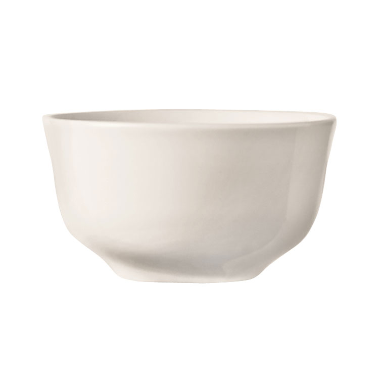 "World Tableware BW-1140 3.87"" Porcelain Bouillon Cup w/ 8-oz Capacity, Basics Collection"