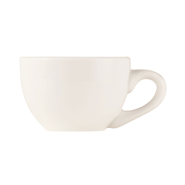 World Tableware BW-1154 3-oz Espresso Cup - Basics Collection, Porcelain, Bright White