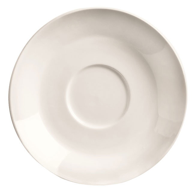 "World Tableware BW-1162 5.75"" Porcelain Saucer, Basics Collection"