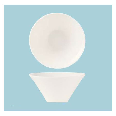 World Tableware BW-5106 5-oz Normandy Bowl - Porcelain, Bright White