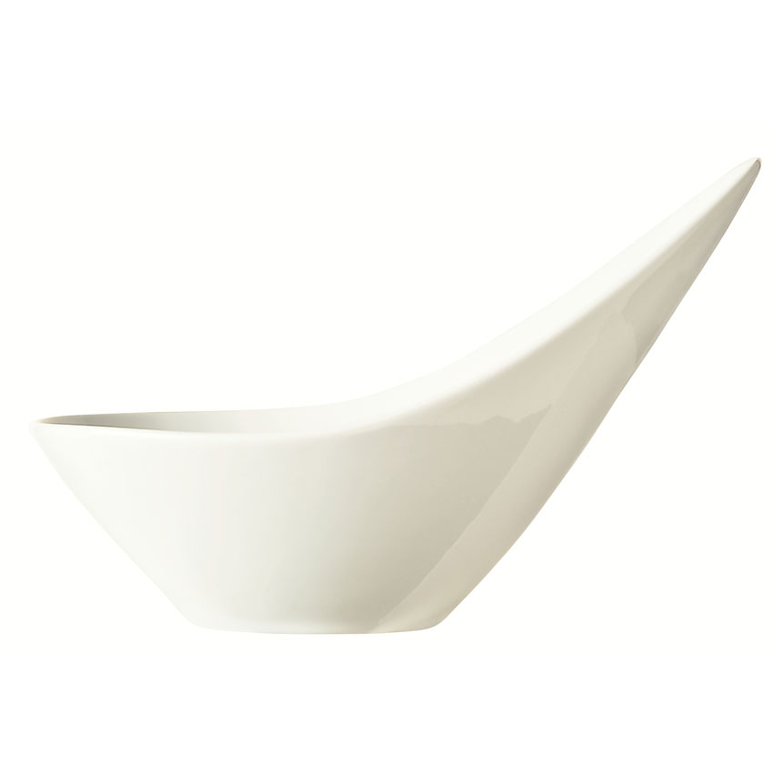 World Tableware BW-6706 6.5-oz Porcelain Bowl, Ultra Bright White, Riviera Slate
